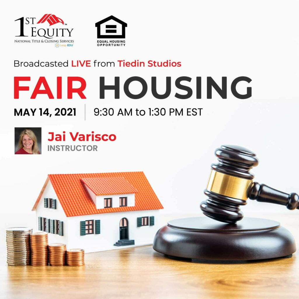 Fair Housing May Product