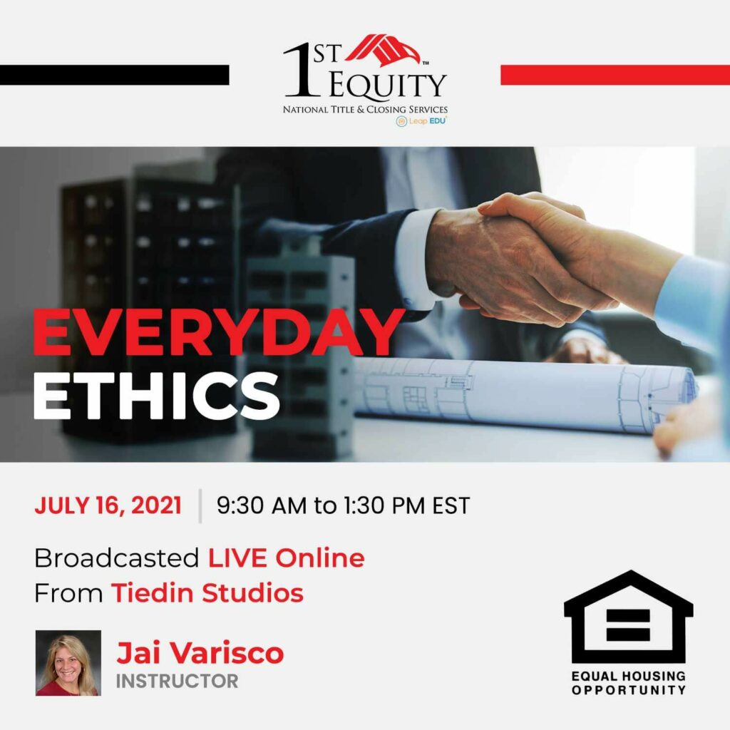 Everyday Ethics July Event