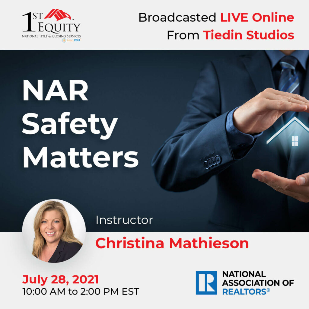 NAR Safety Matters with Christina Mathieson
